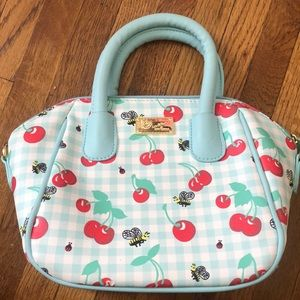 Betsey Johnson Cherries & Bees Bag
